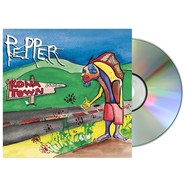 Pepper - Kona Town CD