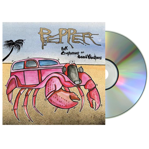 Pepper - Pink Crustaceans and Good Vibrations CD