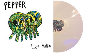 Pepper - Local Motion Zip Hoodie + Album
