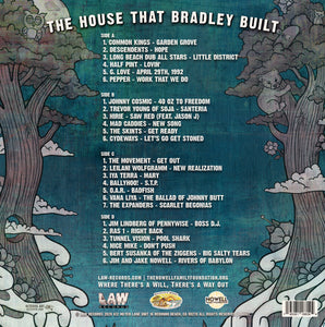 The House That Bradley Built Compilation - 180 gram / Gatefold / Double Vinyl LP