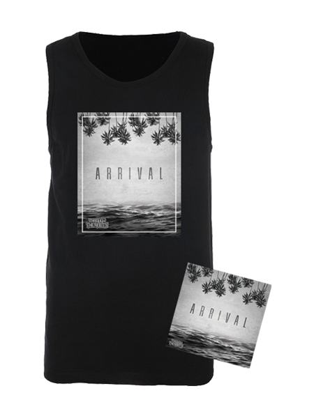PRE-ORDER - TTR Bundle - Arrival (CD) + Arrival Tank (Men's) + Digital Album