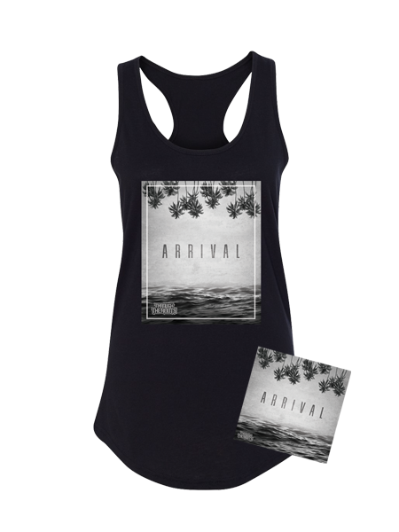 PRE-ORDER - TTR Bundle - Arrival (CD) + Arrival Tank (Women's) + Digital Album