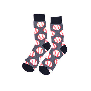 Baseball Dress Socks