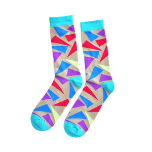 KYSO triangle coloured socks