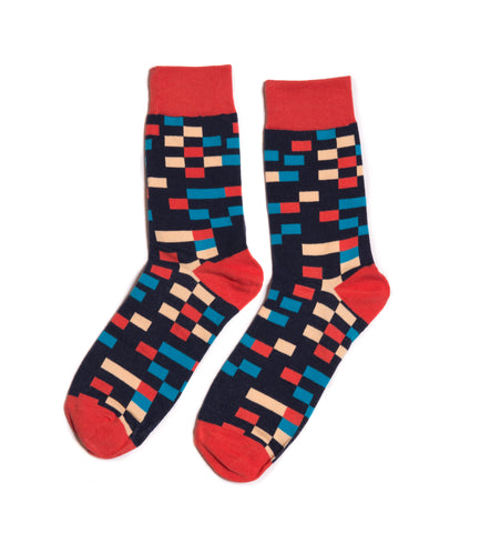 Waldo Dress Socks