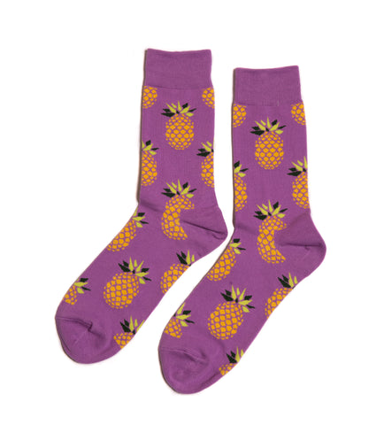 Pineapple Dress Socks