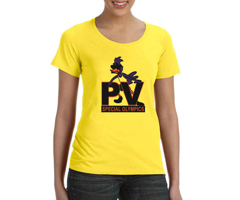 "PVSO Women's ""Logo"" Scoop Neck T-shirt"