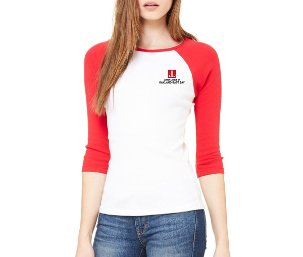"JL Oakland-East Bay Women's ""Volunteer State"" Ringer Shirt"