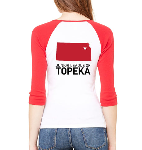"JL Topeka Women's ""Volunteer State"" Ringer Shirt"