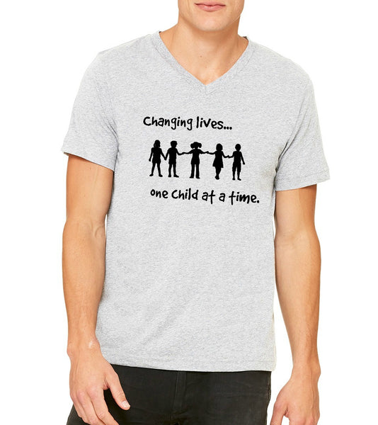 "Wise Owl Unisex ""Changing Lives"" T-shirt"