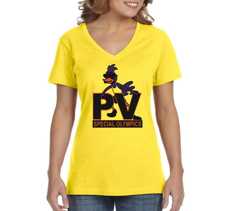 "PVSO Women's ""Logo"" V-Neck T-shirt"