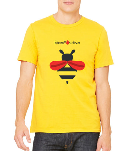 "LLS Men's ""Team Bee Positive"" T-shirt"