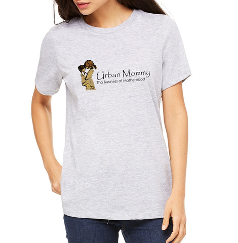 "Urban Mommy Women's ""Logo"" T-shirt"