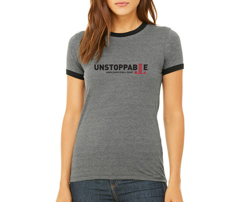 "JL Bell County Women's ""Unstoppable"" T-shirt"