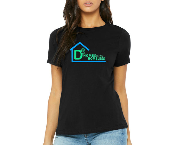 "D-Squared ""Logo"" Women's Scoop Neck T-shirt"