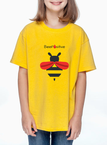"LLS Youth ""Team Bee Positive"" T-shirt"
