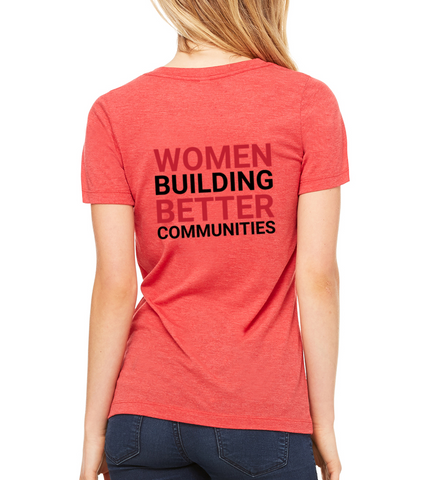 "JL Bell County Women's ""Better Communities"" V-Neck T-shirt"