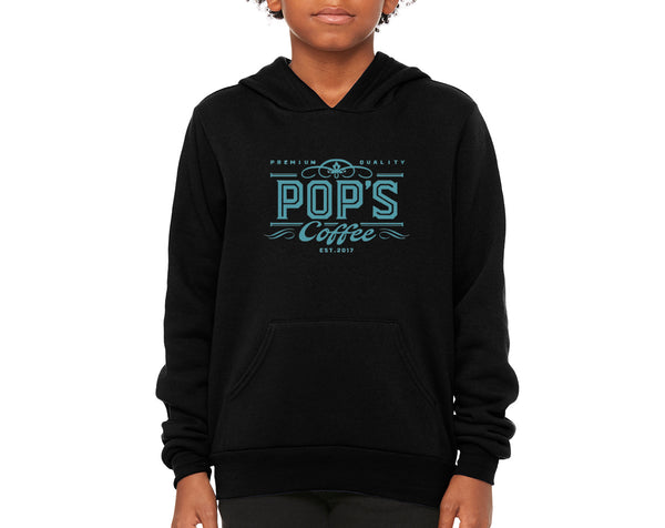 "Pop's Coffee ""Logo"" Youth Pullover Hoodie"