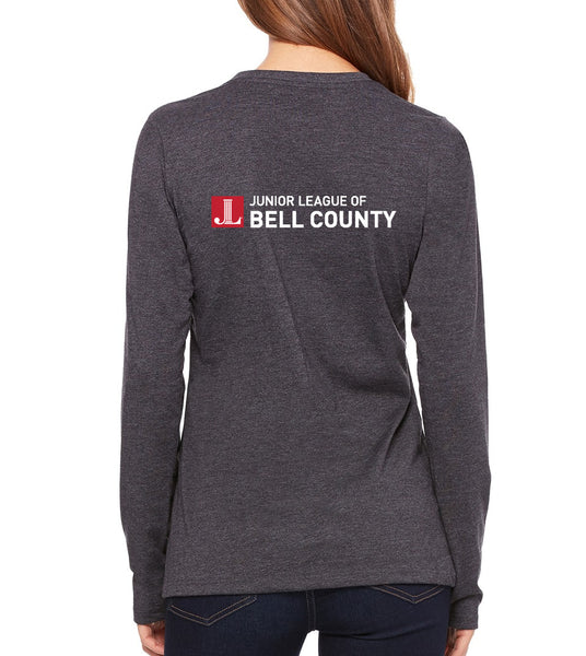 "JL Bell County Women's ""Rebel With a Cause"" Long Sleeve T-shirt"