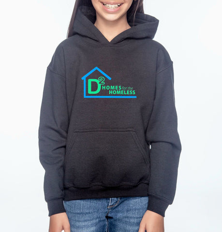 "D-Squared ""Logo"" Youth Pullover Hoodie"