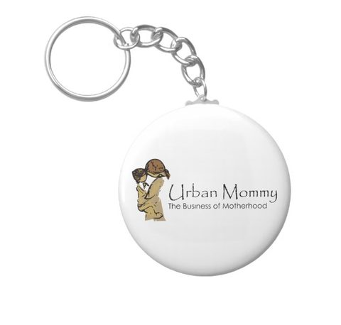 "Urban Mommy ""Logo"" Keychain"