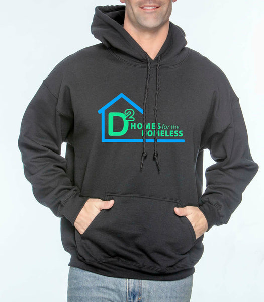 "D-Squared ""Logo"" Unisex Pullover Hoodie"