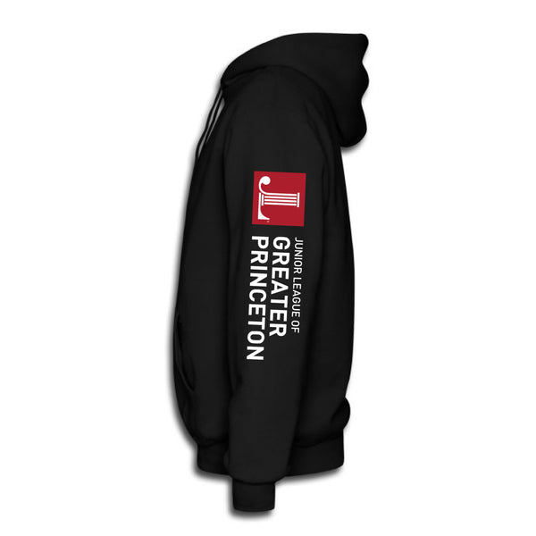 "JL Greater Princeton Unisex ""Logo""  Zip-up Hoodie"