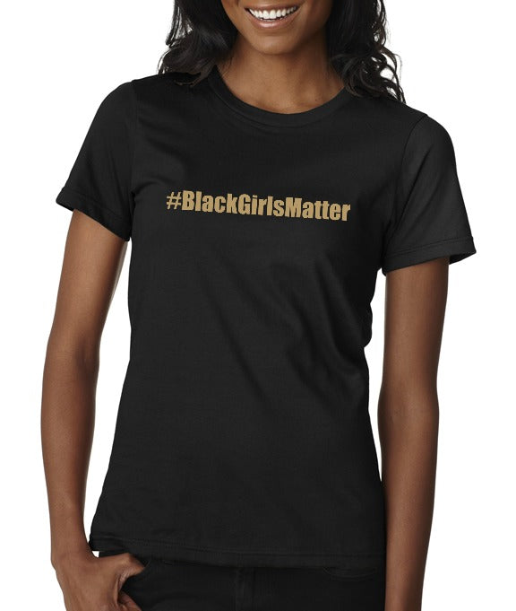"Urban Mommy Unisex ""#BlackGirlsMatter"" T-shirt"