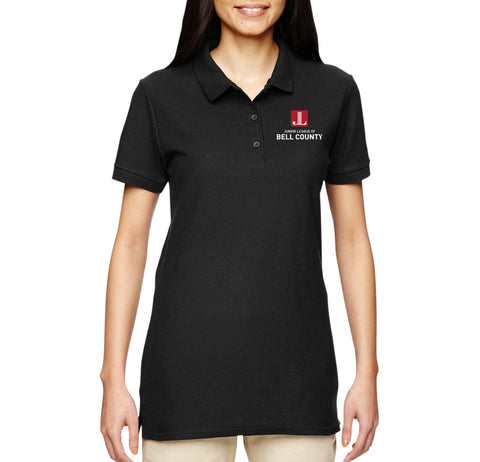 "JL Bell County Women's ""Logo"" Embroidered Polo"