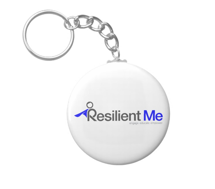 "Resilient Me ""Logo"" Keychain"