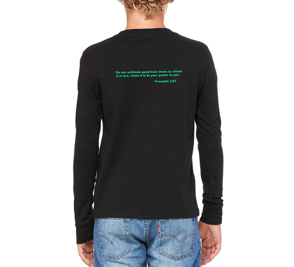 "D-Squared ""Logo"" Youth Long Sleeve T-shirt"