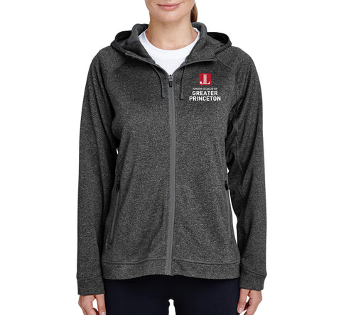 "JL Greater Princeton Women's ""Logo"" Performance Fleece Jacket"