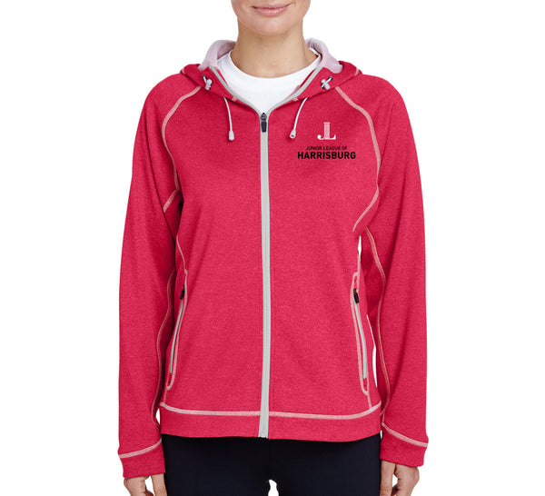 "JL Harrisburg Women's ""Logo"" Performance Fleece Jacket"