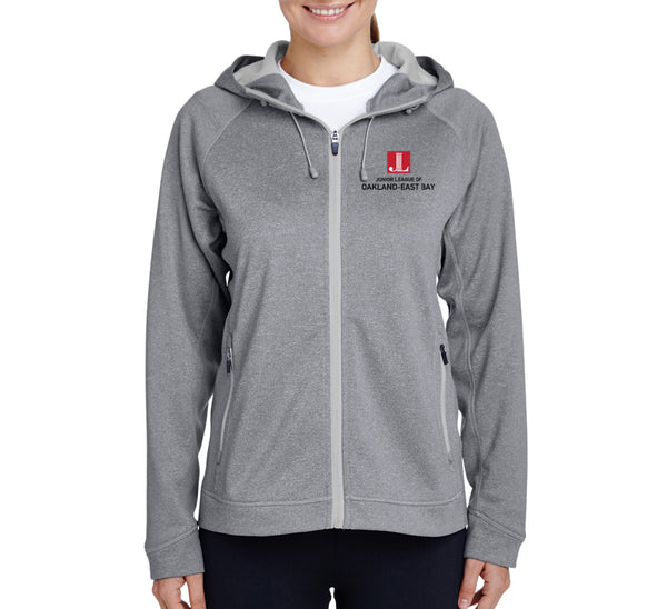 "JL Oakland-East Bay Women's ""Logo"" Performance Fleece Jacket"