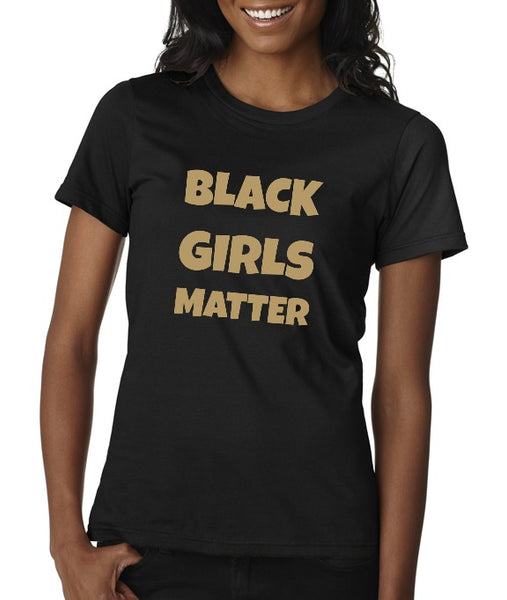 "Urban Mommy Unisex ""Black Girls Matter"" T-shirt"