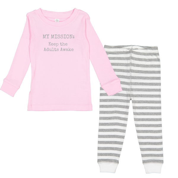 "Rockabye ""My Mission"" Toddler Sleep Set"