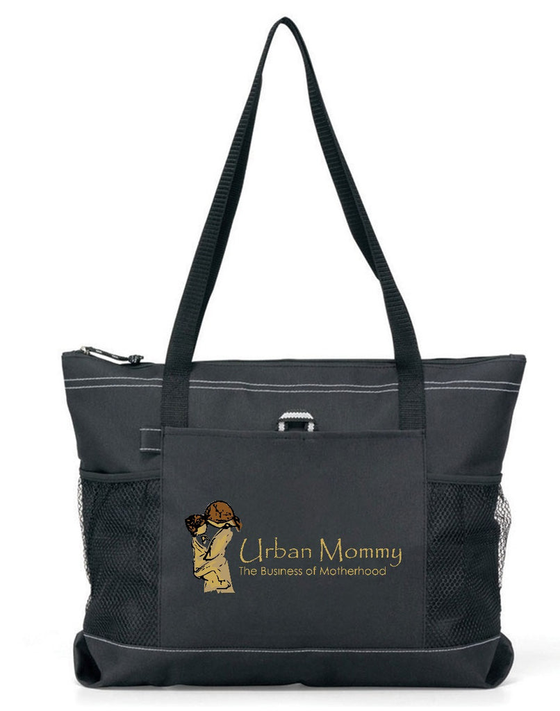 "Urban Mommy ""Logo"" Premium Tote Bag"