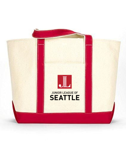 "JL Seattle ""Logo"" Canvas Boat Tote"