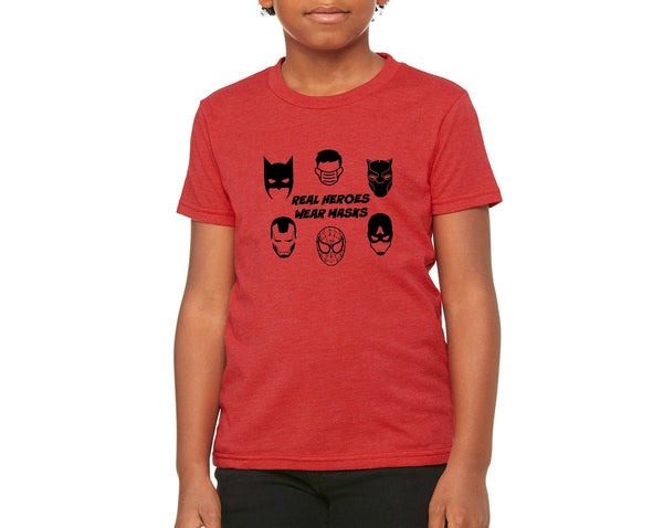 "Youth ""Real Heroes"" T-shirt"