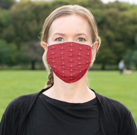 "JL Oakland-East Bay ""Logo"" Cloth Face Mask"
