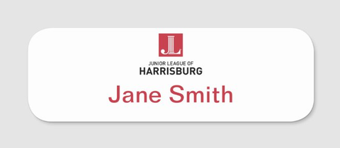 JL Harrisburg Name Tag (Members Only)