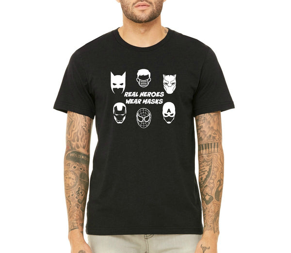 "Unisex ""Real Heroes"" T-shirt"