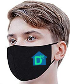 "D-Squared ""Side Logo"" Cloth Face Mask"