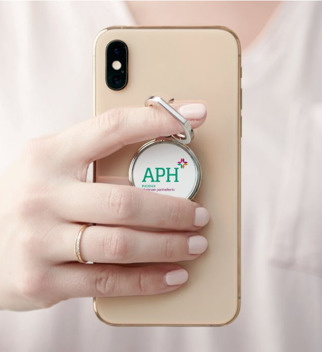 "PPA ""Logo"" Phone Ring Holder & Stand"