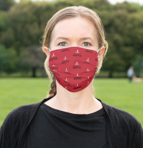 "JL Seattle ""Logo"" Cloth Face Mask"
