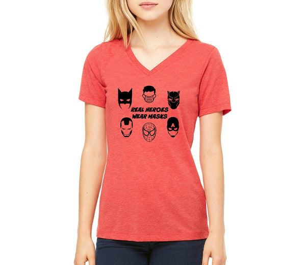 "Women's ""Real Heroes"" T-shirt"