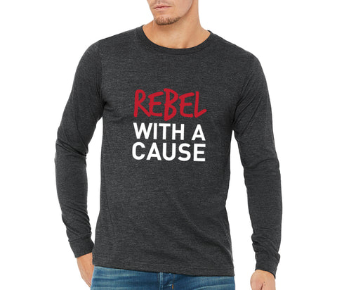 "JL Bell County Unisex ""Rebel With a Cause"" Long Sleeve T-shirt"