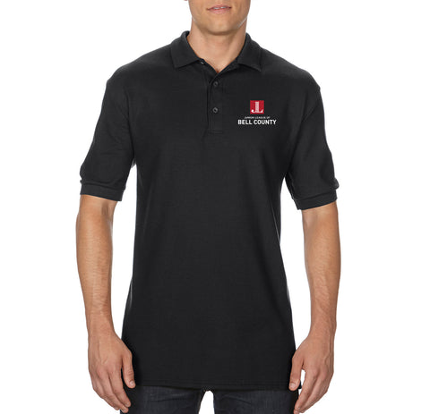 "JL Bell County Unisex ""Logo"" Embroidered Polo"