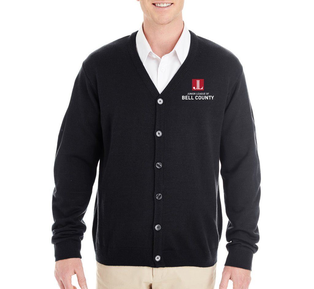"JL Bell County Unisex ""Logo"" Embroidered Cardigan"
