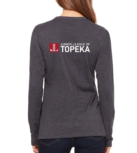 "JL Topeka Women's ""Rebel With a Cause"" Long Sleeve T-shirt"